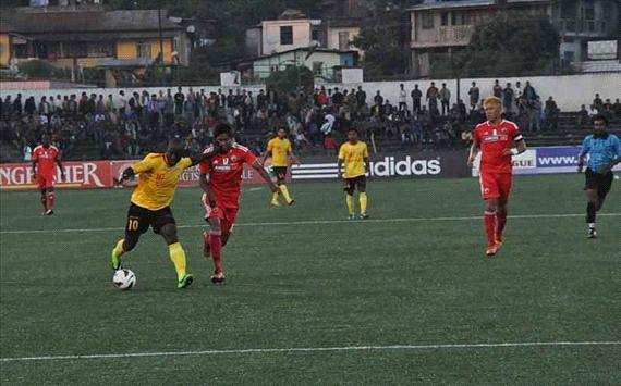 East Bengal thumped Lajong in Shillong Photo Credit: Shillong Lajong FC