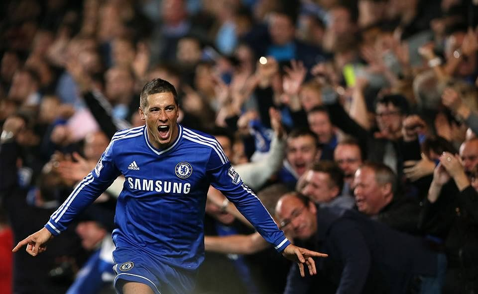 Fernando Torres: The star of the evening for Chelsea