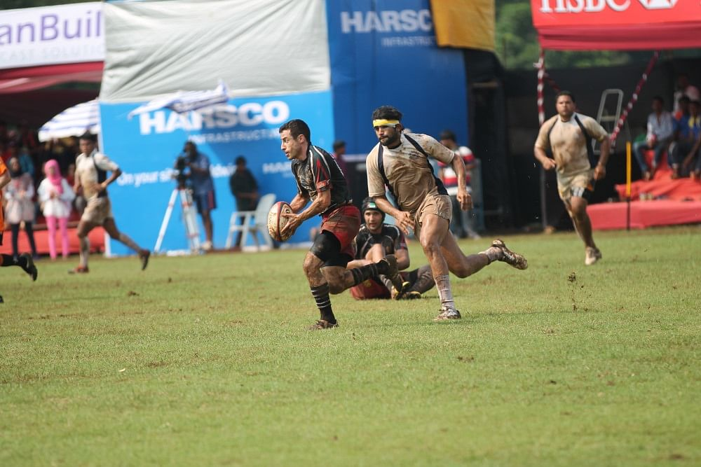 Pendse in action during the final