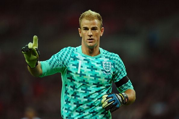 England #1 Joe Hart