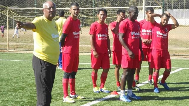 Subhash Bhowmick has to revive the winning habit at Churchill Brothers Photo Credit: AIFF Media