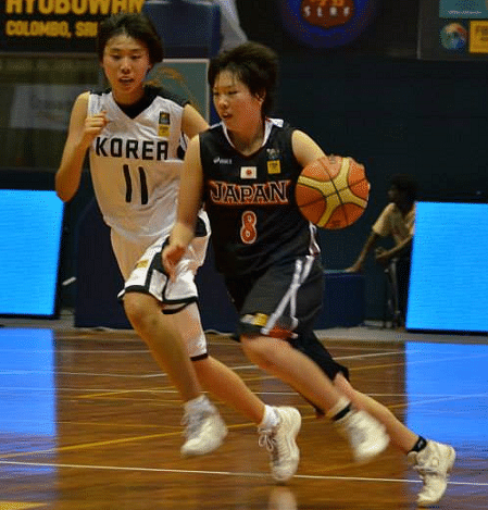 Japan player in action