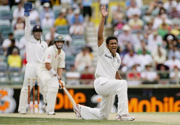 Anil Kumble is India