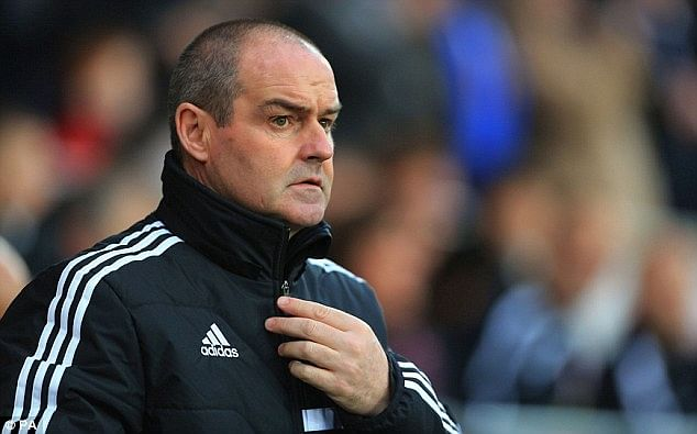Steve Clarke sacked by West Brom