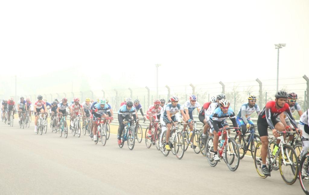 Participants at Tour de India 2013