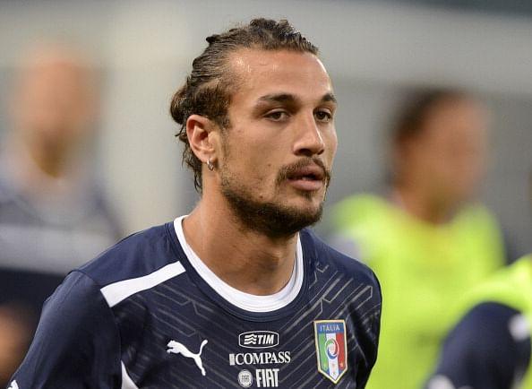 Pablo Osvaldo of Italy and Southampton