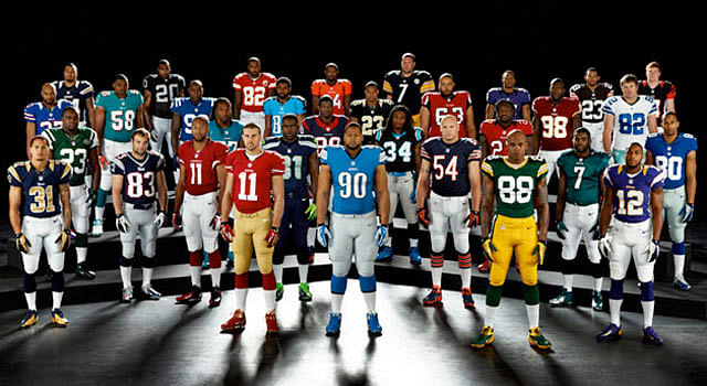 nfl uniforms all 32