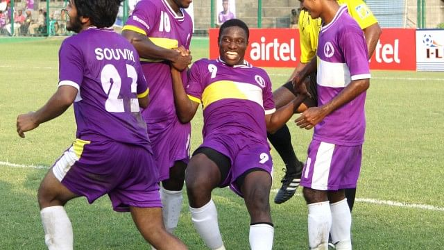 Ranti Martins has had a poor season so far but bagged a match winning brace against Churchill Brothers in the I-League