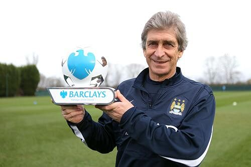 Manuel Pellegrini wins consecutive Manager of the Month