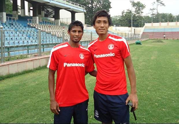 Steven Dias has been reunited with Gouramangi Singh at Rangdajied United Photo Credit: AIFF Media