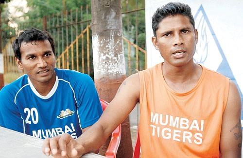 Steven Dias (right) was left frustrated by Mumbai Tigers