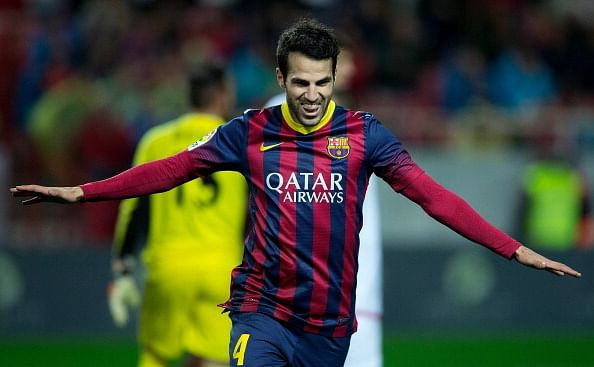 Fabregas lead the assists charts in Europe.