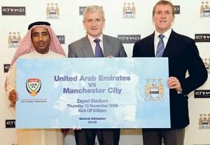 FYI Man City fans - Abu Dhabi is not a country, it