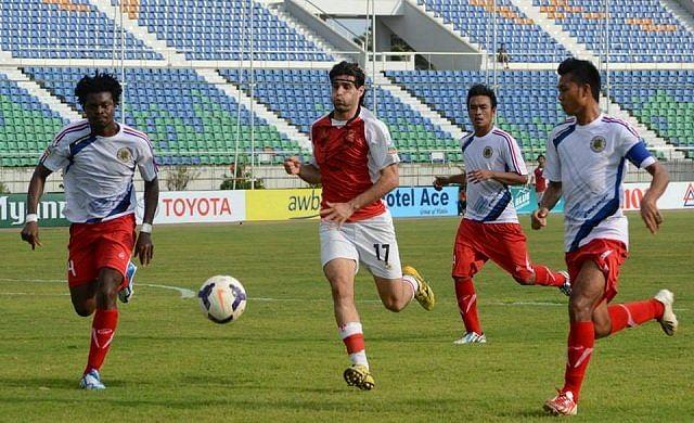 Di Piedi (No.17) Photo Credit: Nay Pyi Taw FC