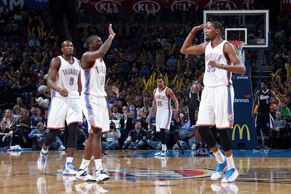 Kevin Durant, Reggie Jackson & Co have sizzled for OKC this season