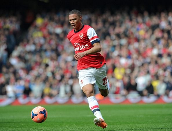 Kieran Gibbs out for the clash against Bayern Munich tonight