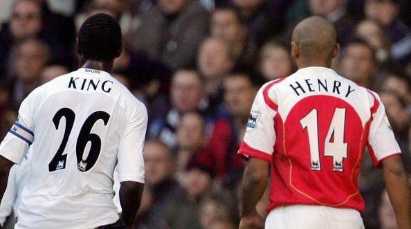 Ledley King Thierry Henry