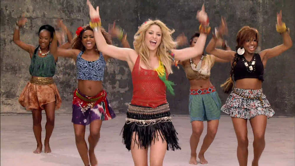Video Shakira S Official 2014 Fifa World Cup Song La La La