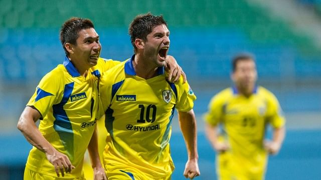 Miljan Mrdakovic (No.10) Photo Credit: Tampines Rovers FC