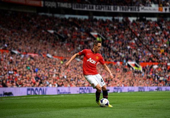 : Adnan Januzaj of Manchester United