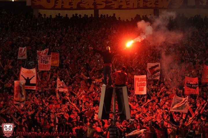 Al-Ahly S.C. supporters