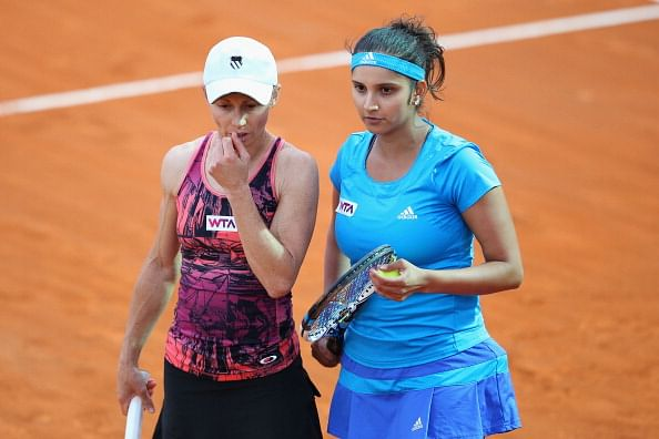 Cara Black and Sania Mirza