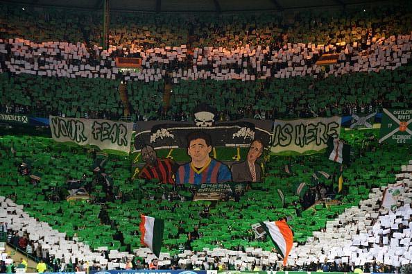 Celtic fans.