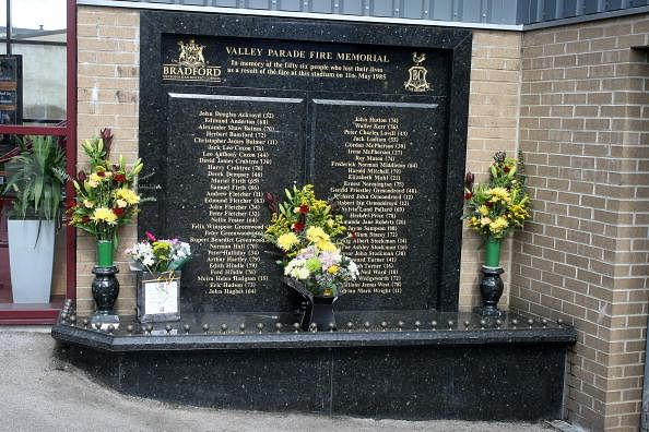 Valley Parade Fire Memorial