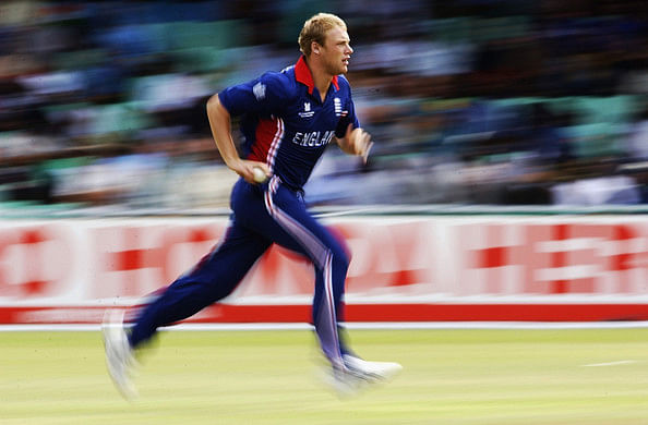 10wickets taken by Andrew Flintoff of England is the highest number of wickets taken by a player at this ground.