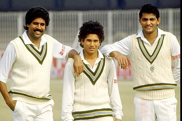 Sachin Tendulkar debut