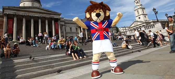 famous world cup mascots