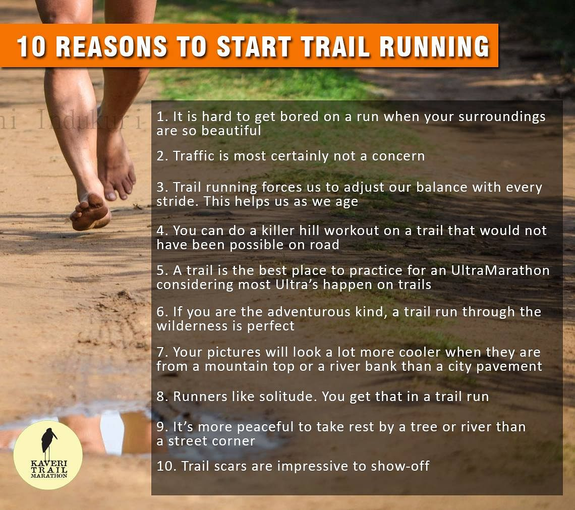 10 Reasons To Run On Trails.