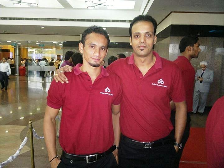 With IOB teammate Pratham Singh, whom he rates highly