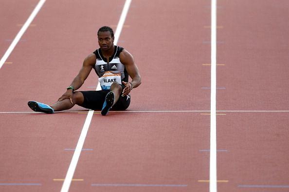 Jamaican sprinter Yohan Blake suffers another injury setback