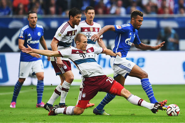 Bayern Schalke 1:1