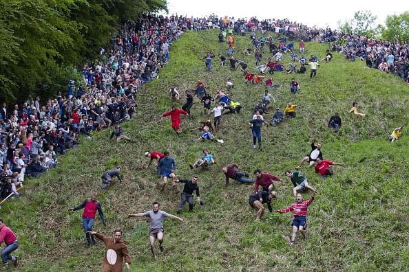 Cheese Rolling The Weirdest Sport In The World