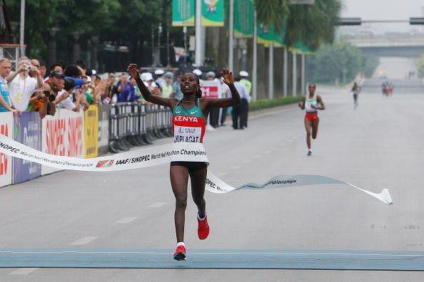 Florence Kiplagat Nairobi run