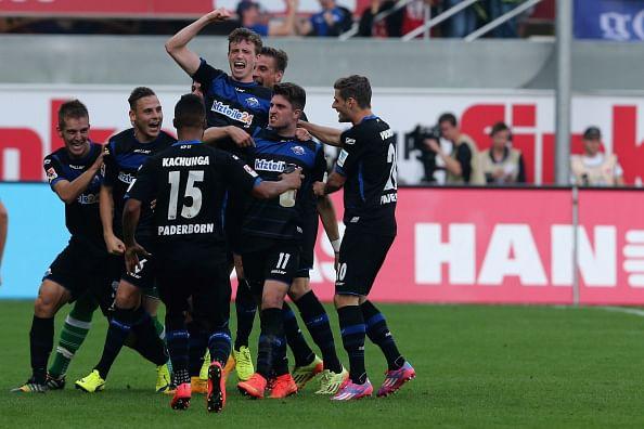 Moritz Stoppelkamp Paderborn goal