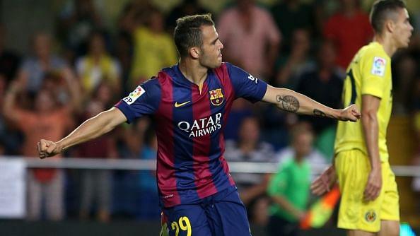 Sandro goal Barcelona Villarreal