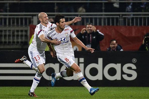 Lyon goal