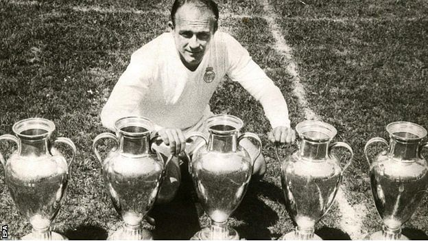 Real Madrid have 13 Champions League trophies currently