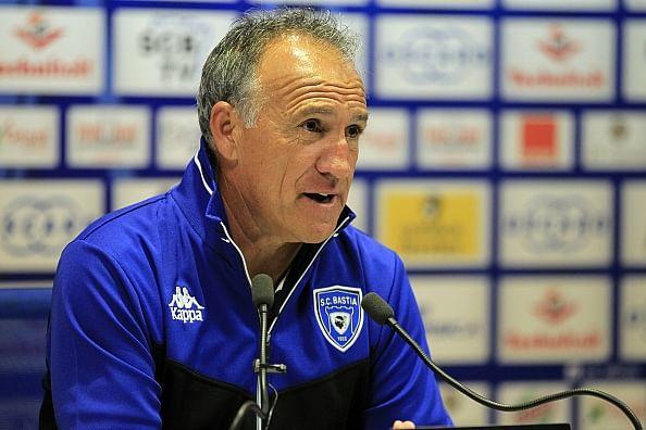 Bastia interim head coach Ghislain Printant