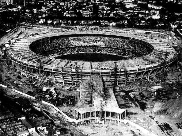The 1950 WC Final in Brazil