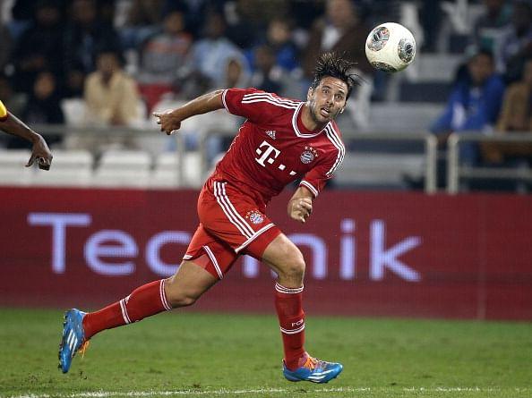 Claudio Pizzaro of Bayern