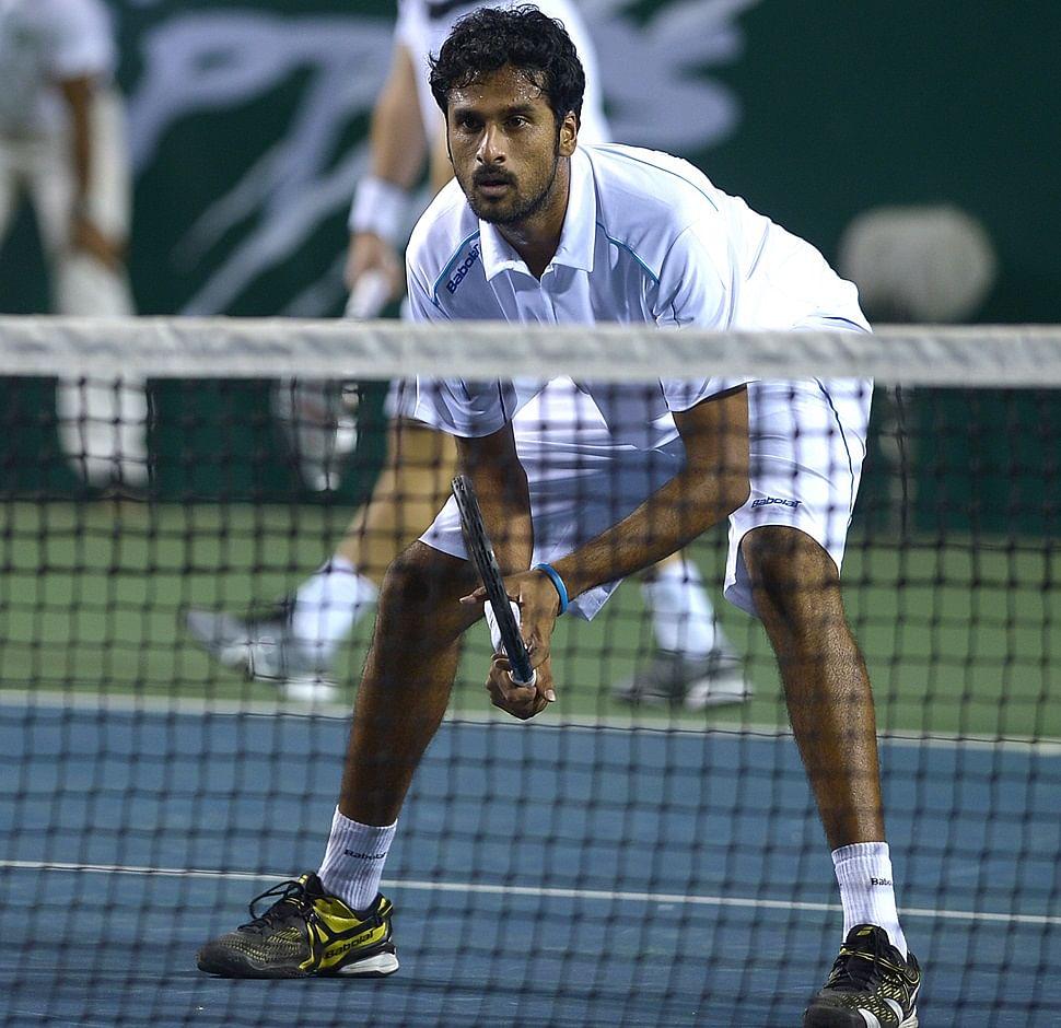 Saketh Myneni, the star of the doubles set