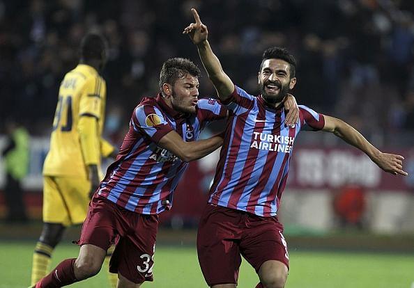 Trabzonspor goal Metalist Kharkiv