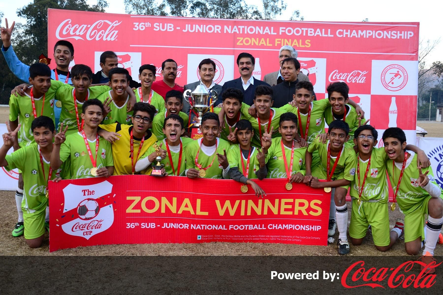 Chandigarh make it to finals of U-15 Coca-Cola Cup in style