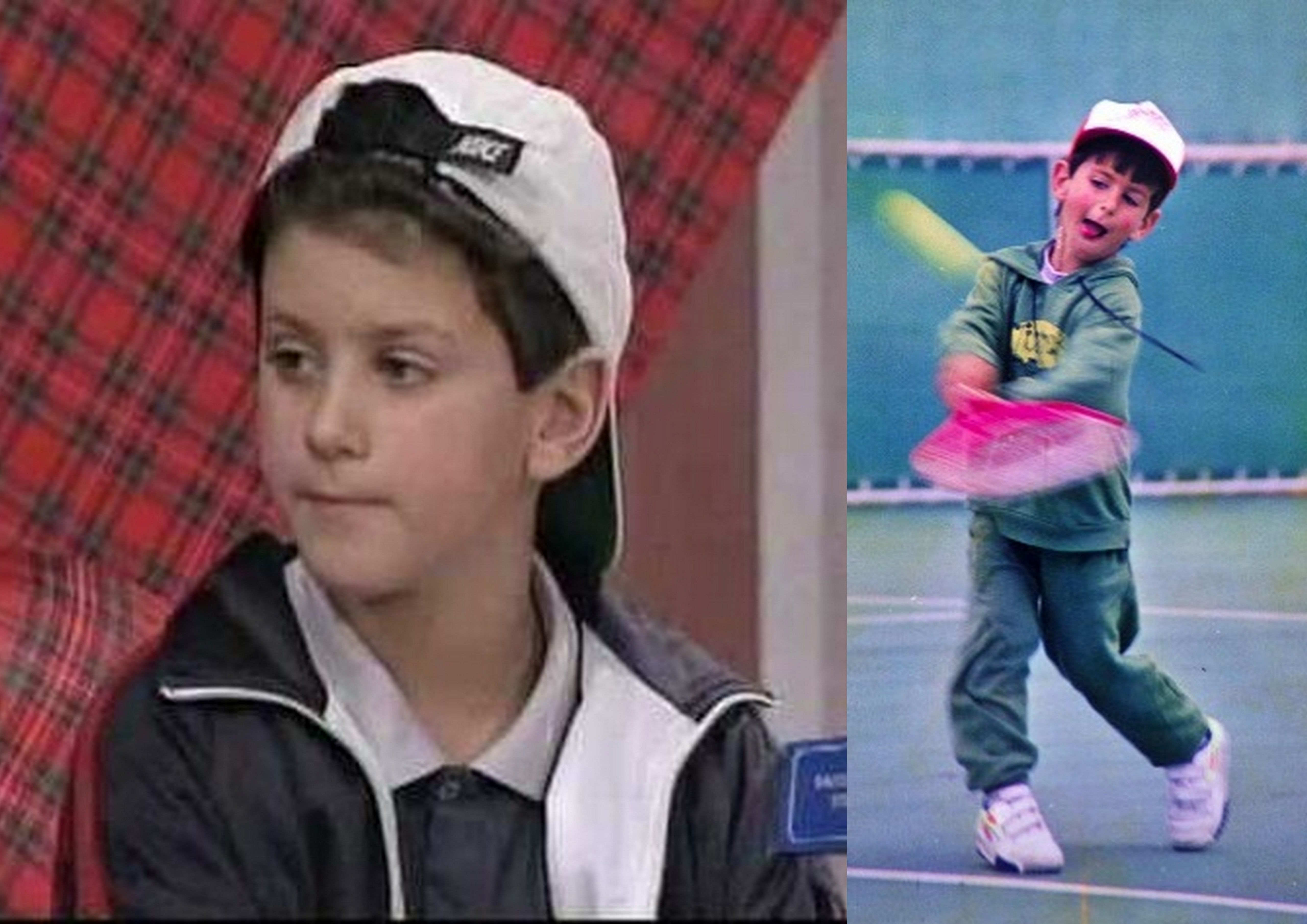 Childhood Pictures Of Tennis Players