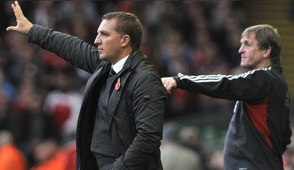 Brendan Rodgers King Kenny Dalglish
