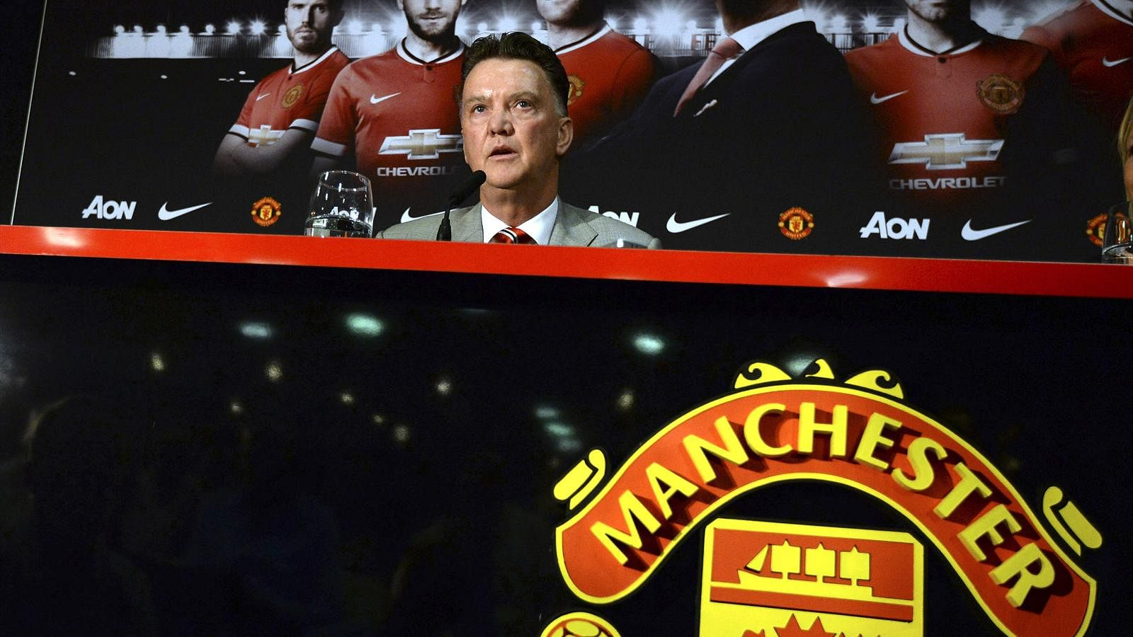 Van Gaal's Strong Personality Tailor-made For Manchester